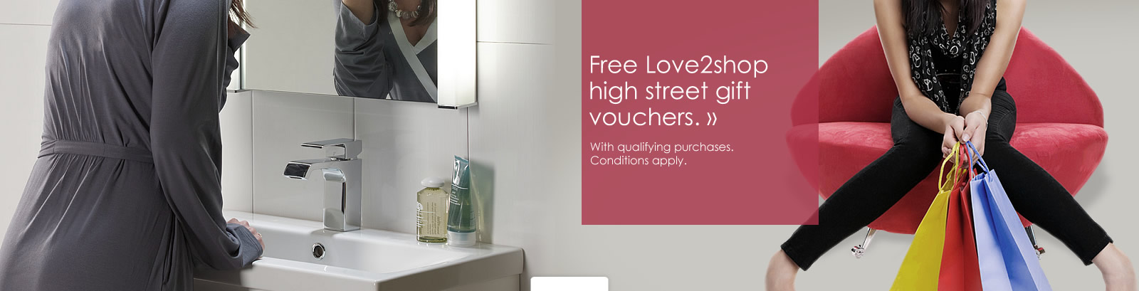 Free Love2shop high street gift vouchers with qualifying purchases