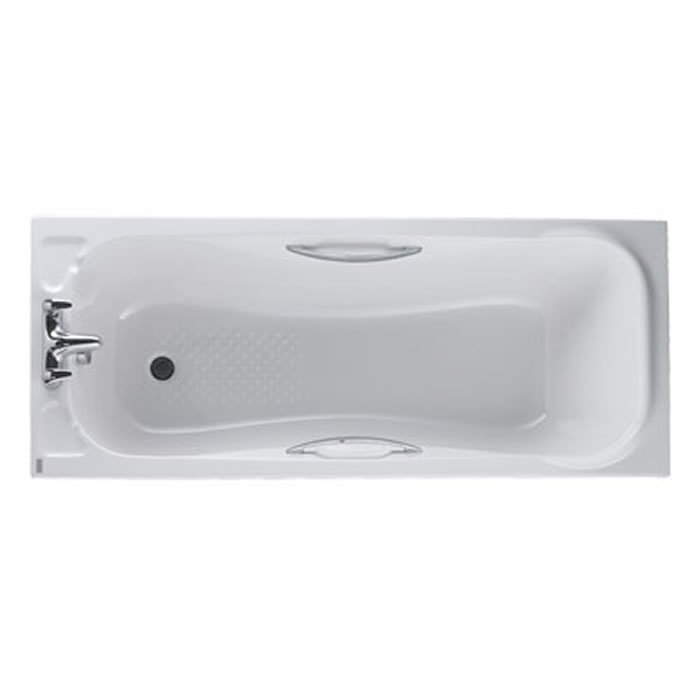 Signature Acrylic Bath 1690mm by 690mm Un drilled - BHS-Home ...