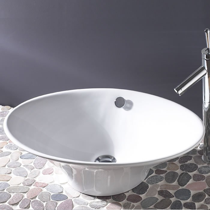 Fluted Freestanding Bowl Bhs Home Improvements