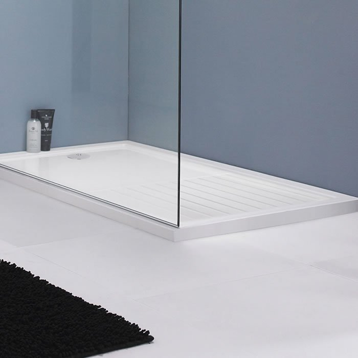 Premier Wetroom Rectangular Walk In Shower Tray 1400x900x40mm - BHS ...