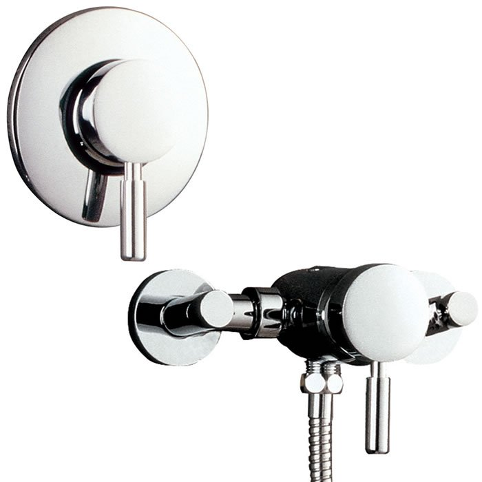Tec Manual Concealed and Exposed Shower Valve - BHS-Home Improvements