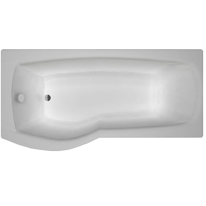 Carron Delta 1600 x 700-800 5mm Acrylic LH Shower Bath – 23.0681L ...