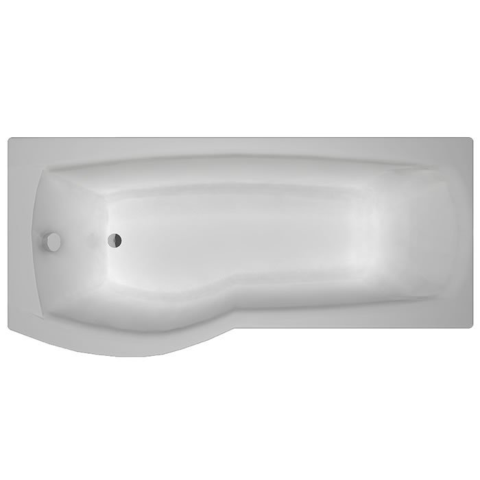 Carron Delta 1700 x 700-800 5mm Acrylic LH Shower Bath – 23.0671L ...