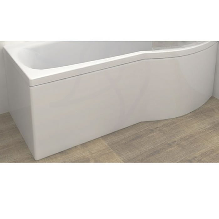 Carron Delta Shower Bath Curved Front Panel Carronite 1700 x 540mm ...