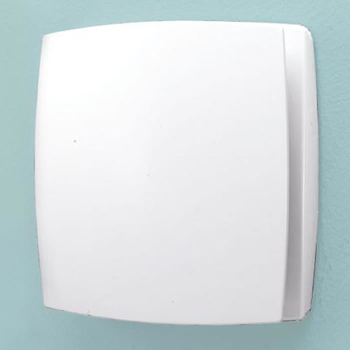 Hib Breeze Wall Mounted White Extractor Fan With Timer 31100