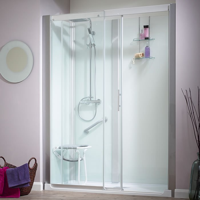 Kinedo Kinemagic Serenity 1400mm By 700mm Recess Shower Cubicle With