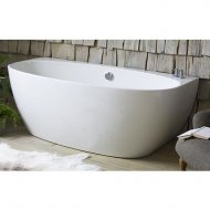 Waters Baths Natura Cove 1700 x 800mm Back to Wall Bath – WTRS-COVE-1700